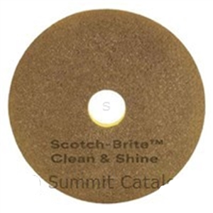 Scotch-Brite Clean and Shine Pad - 14 in.