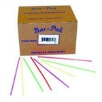 Clear Unwrapped Giant Straw - 6 in.
