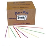 Jumbo Straw Polypropylene Kelly Green Paper Wrapped - 7.75 in.