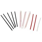 Plastic Stirrer Unwrappd Bulk Red - 4.5 in.