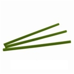 Jumbo Straw Green Wrapped Compostable - 7.75 in.