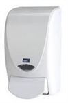 White Dispenser for 1 Liter Hand Soap and Hand Sanitizer