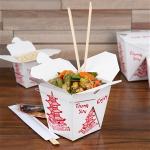 26 oz Chinese Take Out Containers w/o Wired Handle
