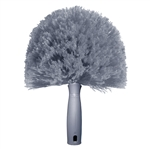 CobWeb Duster Brush Gray Plastic