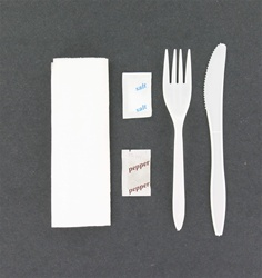 Disposable 5 in 1 meal kit