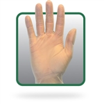 Powder Free Clear Vinyl Gloves Medium Size
