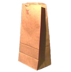 8LB Brown Paper Bag