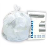 Hi-Valu White Can Liner - 33 in. x 36 in.