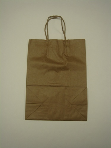 Brown Paper Bag Hvy Duty With Handle Small 250ct