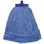Mop Head Changer Cotton Blue - 12 Oz.