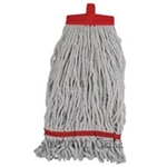 Mop Head Changer Cotton and Poly Blend Red - 12 Oz.