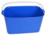 Window Cleaning Bucket Oblong Blue - 9 Ltr.
