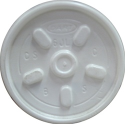 Heavy Duty Plastic Lids for 6oz Cups