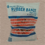 Advantage Rubber Band #33 Red - 3.5 in. x 1.3 in.