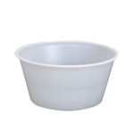 Polystyrene Portion Cup Translucent - 3.25 Oz.