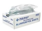 Aluminum Foil Pop Up Sheet - 12 in. x 12.75 in.