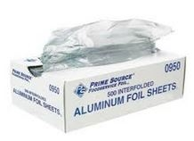 Aluminum Foil Pop Up Sheet - 12 in. x 10.75 in.