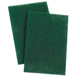 Medium Duty Scouring Pad Green - 6 in. x 9 in.