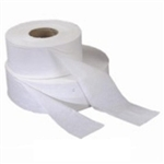 Bath Tissue Jumbo Roll White 2 Ply - 3.48 in. x 1000 ft.
