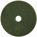 Green Scrub Pads Low Speed Floor Pad - 20 in.