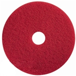 Red Buffing Pad Low Speed Floor Pad - 20 in.