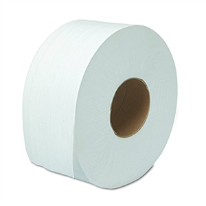 2-Ply Green Source jumbo White Toilet Tissue - 3.5 in. x 750 ft.