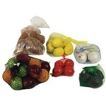HDPE Produce Generic Print Clear Bag - 14 in. x 18 in.