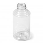 Skep Bottle Pet Clear With White Flip Lid - 16 Oz.