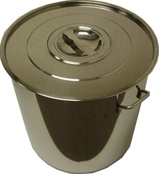Stainless Steel Stock Pot w/Cover 50 cm