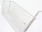 Rectangle Wire Fry Baskets - 13-1/4 x 5-1/2 x 5-11/16