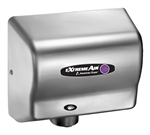 Extremeair Steel Cover Satin Chrome Finish Hand Dryer - 5.63 in. x 10.13 in.
