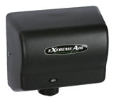 Extremeair EXT Series Steel Cover Black Graphite Hand Dryer - 5.63 in. x 10.13 in.