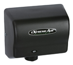 Extremeair GXT Series Black Graphite Steel Cover Hand Dryer - 5.63 in. x 10.13 in.