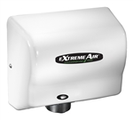 Extremeair GXT Series White Epoxy Finish Steel Cover Hand Dryer - 5.63 in. x 10.13 in.
