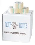 Carton Sealing Tape 1.6 Mil Clear - 2 in. x 110 Yd.