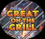 Great on the Grill Grilling Label - 2 in.