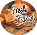 Fresh Baked Flavor Label Nuts, Seeds and Grains - 1.25 in. x 2 in.