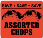 Assorted Chops Save Save Save Pork Continued - 1.5 in. x 2 in.