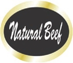 Natural Beef Continued Label - 0.84 in. x 1.9 in.