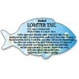 Lobster Tail Seafood Cooking Directions Labels