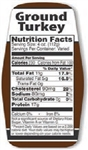 Ground Turkey Nutrifacts Nutritional Grinds - 1.5 in. x 3.62 in.