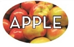 Apple Flavor Label - 1.25 in. x 2 in.