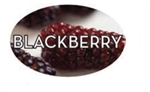 Blackberry Flavor Label - 1.25 in. x 2 in.