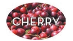 Cherry Flavor Label - 1.25 in. x 2 in.