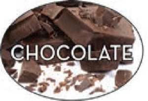 Chocolate Flavor Label Sweet - 1.25 in. x 2 in.