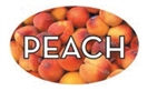 Peach Flavor Label - 1.25 in. x 2 in.