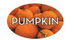 Pumpkin Flavor Label - 1.25 in. x 2 in.