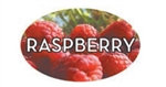 Raspberry Flavor Label - 1.25 in. x 2 in.