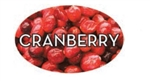 Cranberry Flavor Label - 1.25 in. x 2 in.