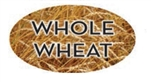 Whole Wheat Flavor Label Nuts Seeds and Grains - 1.25 in. x 2 in.
